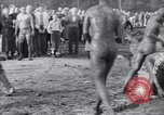 Image of mud wrestling Los Angeles California USA, 1936, second 56 stock footage video 65675041292
