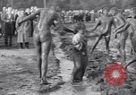 Image of mud wrestling Los Angeles California USA, 1936, second 57 stock footage video 65675041292