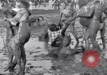 Image of mud wrestling Los Angeles California USA, 1936, second 59 stock footage video 65675041292