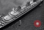 Image of French liner SS Normandie New York City USA, 1936, second 35 stock footage video 65675041298