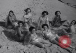 Image of sun bathing Del Monte California USA, 1936, second 39 stock footage video 65675041305