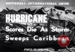 Image of Hurricane Jamaica, 1951, second 12 stock footage video 65675041347