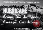 Image of Hurricane Jamaica, 1951, second 13 stock footage video 65675041347