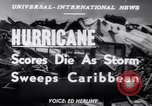Image of Hurricane Jamaica, 1951, second 14 stock footage video 65675041347