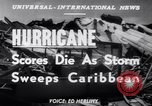 Image of Hurricane Jamaica, 1951, second 15 stock footage video 65675041347