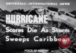 Image of Hurricane Jamaica, 1951, second 16 stock footage video 65675041347