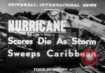 Image of Hurricane Jamaica, 1951, second 17 stock footage video 65675041347
