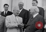Image of President Eisenhower Washington DC USA, 1953, second 7 stock footage video 65675041355