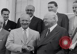 Image of President Eisenhower Washington DC USA, 1953, second 9 stock footage video 65675041355