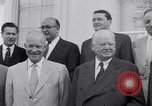 Image of President Eisenhower Washington DC USA, 1953, second 19 stock footage video 65675041355
