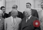 Image of President Eisenhower Washington DC USA, 1953, second 21 stock footage video 65675041355