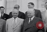 Image of President Eisenhower Washington DC USA, 1953, second 22 stock footage video 65675041355