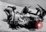 Image of inflated boat Quantico Virginia USA, 1953, second 2 stock footage video 65675041356
