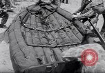 Image of inflated boat Quantico Virginia USA, 1953, second 16 stock footage video 65675041356