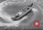 Image of inflated boat Quantico Virginia USA, 1953, second 42 stock footage video 65675041356