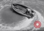 Image of inflated boat Quantico Virginia USA, 1953, second 43 stock footage video 65675041356
