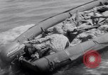 Image of inflated boat Quantico Virginia USA, 1953, second 53 stock footage video 65675041356
