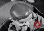 Image of Charlie McCarthy driving a car Princeton New Jersey USA, 1953, second 17 stock footage video 65675041357
