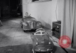 Image of Charlie McCarthy driving a car Princeton New Jersey USA, 1953, second 36 stock footage video 65675041357