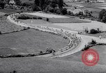 Image of bicycle racing France, 1953, second 8 stock footage video 65675041358