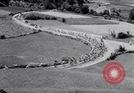 Image of bicycle racing France, 1953, second 10 stock footage video 65675041358