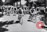 Image of bicycle racing France, 1953, second 11 stock footage video 65675041358