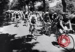 Image of bicycle racing France, 1953, second 13 stock footage video 65675041358