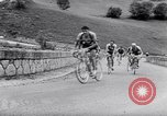 Image of bicycle racing France, 1953, second 16 stock footage video 65675041358