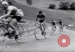 Image of bicycle racing France, 1953, second 18 stock footage video 65675041358
