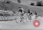 Image of bicycle racing France, 1953, second 19 stock footage video 65675041358