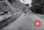 Image of bicycle racing France, 1953, second 49 stock footage video 65675041358