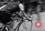 Image of bicycle racing France, 1953, second 56 stock footage video 65675041358