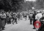 Image of bicycle racing France, 1953, second 58 stock footage video 65675041358