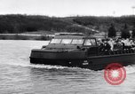 Image of amphibious vehicle California United States USA, 1956, second 4 stock footage video 65675041375