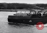Image of amphibious vehicle California United States USA, 1956, second 5 stock footage video 65675041375