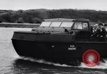 Image of amphibious vehicle California United States USA, 1956, second 6 stock footage video 65675041375