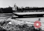 Image of amphibious truck France, 1956, second 28 stock footage video 65675041378