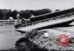 Image of amphibious truck France, 1956, second 31 stock footage video 65675041378