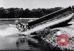 Image of amphibious truck France, 1956, second 32 stock footage video 65675041378