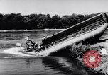 Image of amphibious truck France, 1956, second 33 stock footage video 65675041378