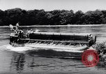 Image of amphibious truck France, 1956, second 36 stock footage video 65675041378