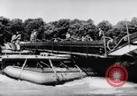 Image of amphibious truck France, 1956, second 56 stock footage video 65675041378