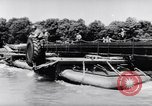Image of amphibious truck France, 1956, second 58 stock footage video 65675041378