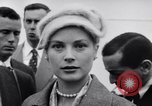 Image of Grace Kelly New York City USA, 1956, second 28 stock footage video 65675041379