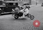 Image of unique motorcycle France, 1930, second 5 stock footage video 65675041393