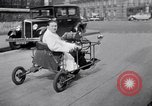 Image of unique motorcycle France, 1930, second 15 stock footage video 65675041393