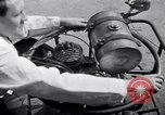 Image of unique motorcycle France, 1930, second 26 stock footage video 65675041393