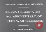 Image of Chancellor Bruening Gleiwitz Germany, 1931, second 8 stock footage video 65675041395