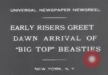 Image of Circus New York City USA, 1931, second 8 stock footage video 65675041396