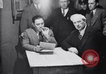 Image of Gangster Fred Burke captured by police Saint Joseph Michigan USA, 1931, second 42 stock footage video 65675041400